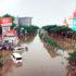 Kawasan Pasteur lumpuh akibat terendam banjir