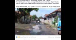 "Objek Wisata ""Jeglugan Sewu"" Viral Di Medsos Warga Cirebon"