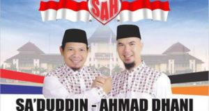 Sa'duddin – Ahmad Dhani Unggul Di Quick Count Pilkada Bekasi