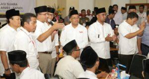 Anies-Sandi Unggul Exit Poll, Alunan Shalawat Menggema Di Ibukota