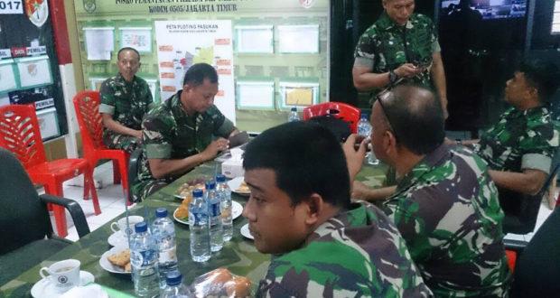 Danrem 051/Wkt Pantau Pelaksanaan Pilkada Cagub/Cawagub DKI Jakarta