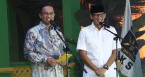 Anies: PKS Kirimkan Tanda-Tanda untuk Jakarta