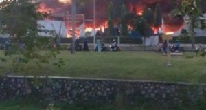 Pabrik Plastik Di Jababeka Kebakaran Delapan Jam Baru Bisa Dipadamkan