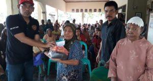 Desa Hulubantenglor Perkuat Infrastruktur & Berikan Sumbangan Jelang Lebaran