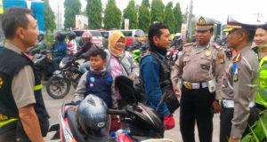 Dir Lantas Polda Metro Jaya Lakukan Kunjungan Ke Check Point Kedung Waringin