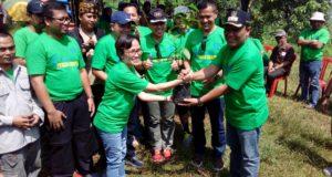 6 Ribu Pohon Ditanam di Puncak Sempur