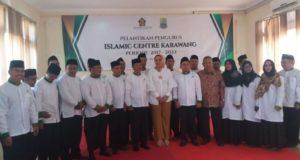 Cellica Lantik Pengurus Islamic Center Baru