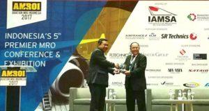 PT BIJB Tawarkan Peluang Bisnis Perawatan pesawat di Ajang AMROI 2017