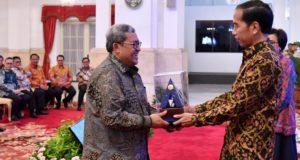 Raih WTP 6 Kali, Pemprov Jabar Terima Penghargaan Dari Presiden