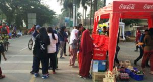 Coca-Cola Amatil Indonesia Dukung Car Free Day Cikarang
