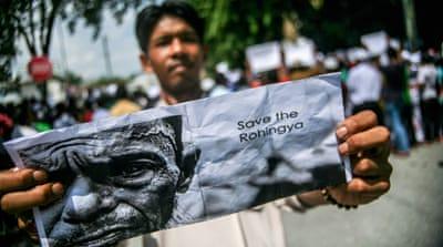 Merebak Tragedi Rohingya, Muspika Kecamatan Tawang Sambangi Vihara