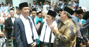 Iduladha di Sukabumi, Jokowi Berjanji Selesaikan Infrastruktur Transportasi Kawasan