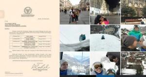 Minta Fasilitas ke Dubes, Anggota DPR Rachel Maryam Posting Foto Kemesraan di Paris
