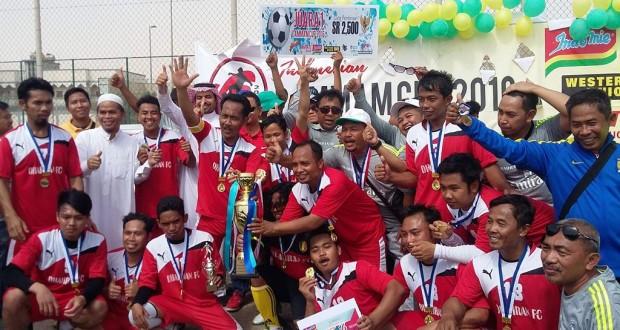 Kabar Gembira! TKI Harumkan Indonesia di Arab Saudi Lewat Sepak Bola