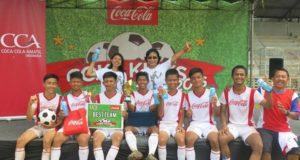 """Pelatihan Sepak Bola """"Coke Kicks"""" Hadir di Bogor"""