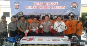 Polres Cirebon Ungkap Empat Kasus Judi Togel