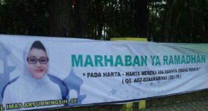 """Heboh! Spanduk Bertuliskan """"Adz-Dzaakariyat"""" Dari Plt Bupati Subang"""