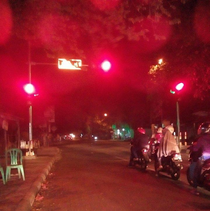 Rawan Laka, Pertigaan Penggung Kini Dipasang Lampu Merah