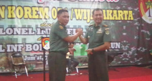 Kolonel Inf Bobby Rinal Makmun, Resmi Jabat Danrem 051/Wkt