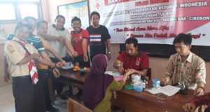 HUT RI, Desa Dompyong Wetan Gelar Baksos & Donor Darah