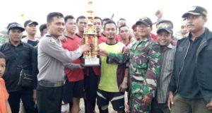 Sambut HUT RI, Karang Taruna Wijaya Kusuma Adakan Turnament Sepak Bola