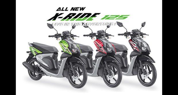 Dengan Mesin Naik Kelas, X-Ride 125 Makin Canggih & Moderen