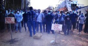 Lagi! Massa Terdampak Bendungan Leuwi Keris Lakukan Demo Sejak Tujuh Bulan Lalu
