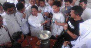 Siswa SMA 10 Bandung Antusias Sambut Sang Penerang Uko