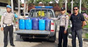Razia Di Akhir Pekan, Polsek Pabuaran Sita 300 Liter Tuak