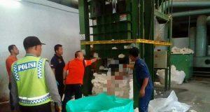 Karyawan Operator Mesin Ballpres PT EMBEE Tekstil, Ditemukan Tewas Mengenaskan