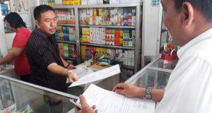Dinas Perdagangan Sita Obat dan Kosmetik dari Tiongkok