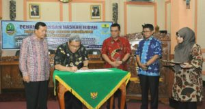 Gedung Pusdiklatpri Resmi Jadi Aset Pemkot Cirebon