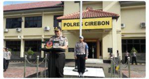 Mantap! Polres Cirebon Siapkan Pengamanan Natal & Tahun Baru 2018 Sejak Dini