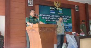 Dandim 0618/BS Bandung Perintahkan Seluruh Babinsa & Persit Jadi Pelopor Pengolahan Sampah