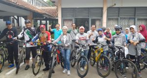 Pemkab Merutinkan Gelar Sepeda Sehat Bersama OPD