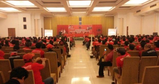 Ribuan Kader PDIP Siap Menangkan Pasangan Jadi Jaya