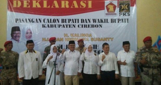 Pasangan Kalinga Santy Lakukan Deklarasi