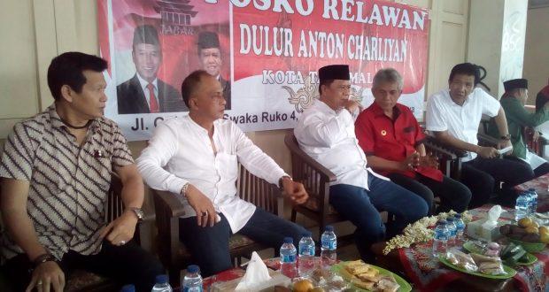 Anton Charlyan: Relawan Saya Dilarang Kampanye Hitam