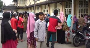 Pasien RS dr Soekarjo Tasikmalaya Berhamburan Saat Gempa