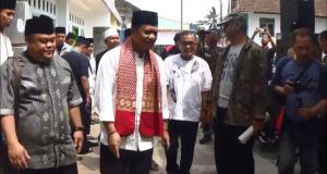 Anton Silaturahmi Dengan Santri Ponpes Almunawar Jarnauziyyah Tasikmalaya