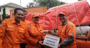 Terdampak Gempa Lebak Paling Besar, Kab. Sukabumi Dapat Bantuan Gubernur Jabar