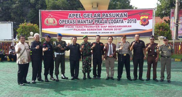 Kapolres Cirebon: Jaga Netralitas & Lakukan Deteksi Dini Jelang Pilbup
