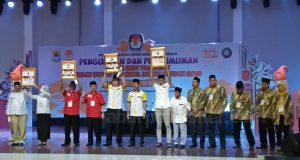Berikut Ini Nomor Urut Paslon Bupati Cirebon