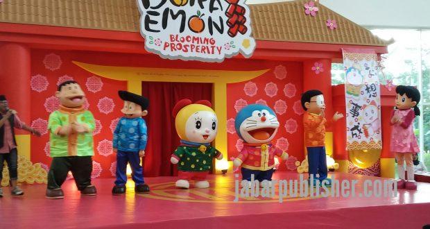 SMB Hadirkan Doraemon 'Blooming Prosperity'
