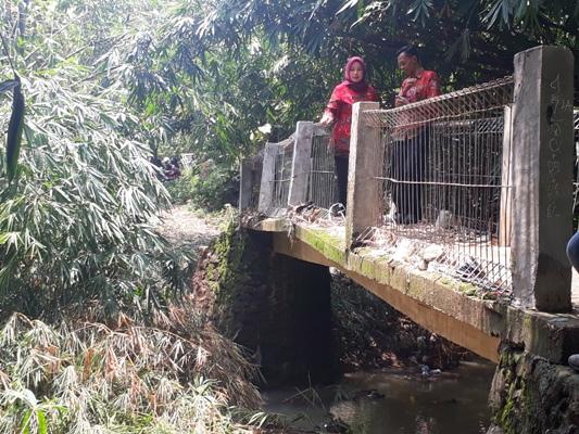 Desa Lemahabang Segera Benahi Jembatan Penghubung Dusun