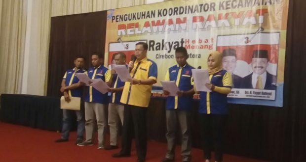 Korcam Relawan Rakyat Resmi di Kukuhkan