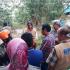 Wabup Selly Janji Bangunkan Jembatan Gantung Ciledug yang Terhanyut Banjir