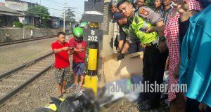 Terobos Palang Kereta, Dua Pelajar Tewas Tersambar Cirebon Express