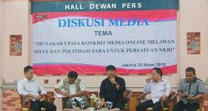 Jodhi: Beredar Hoaxs Karena Masyarakat Tak Percaya Media