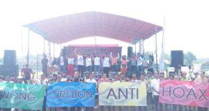 Tangkal Hoax 'Wong Cerbon Deklarasi Anti Hoax'